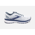 White/Grey/Deep Cobalt                                       - Brooks Running - Men's Ghost 13