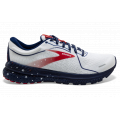 White/Blue/Red - Brooks Running - Women's Adrenaline GTS 21