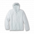 Matrix Icy Grey Print - Brooks Running - Men's Canopy Jacket