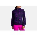 Matrix Navy Print - Brooks Running - Women's Canopy Jacket