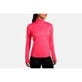 Heather Fluoro Pink                                          - Brooks Running - Women's Dash 1/2 Zip