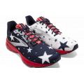 Blue/Red/Silver - Brooks Running - Women's Launch 8