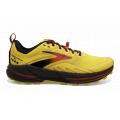 Yellow/Black/Grenadine - Brooks Running - Men's Cascadia 16