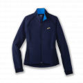 Navy/Blue Bolt - Brooks Running - Women's Fusion Hybrid Jacket