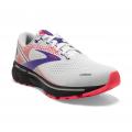 White/Purple/Coral - Brooks Running - Women's Ghost 14