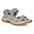 Ice Flower/Cocoa Brown - ECCO - Women's Yucatan Sandal