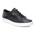 Black - ECCO - Men's Soft 7 Sneaker