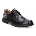 Black - ECCO - Men's Holton Apron Toe Tie
