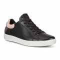 Black/Rose Dust - ECCO - Women's Soft 7 Street Sneaker