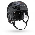 Black - CCM - Tacks 710 Combo Helmet Senior