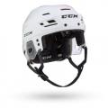 White - CCM - Tacks 710 Combo Helmet Senior