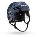 Navy - CCM - Tacks 710 Combo Helmet Senior