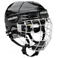 Black - Bauer - Re-Akt 100 Helmet Combo