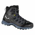 Black/Black - Salewa - Mountain Trainer Lite Mid GORE-TEX Men's Shoes