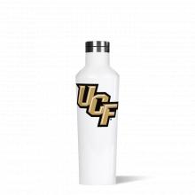 Canteen 16oz Gloss White-  FLORIDA  U. OF- Big Logo