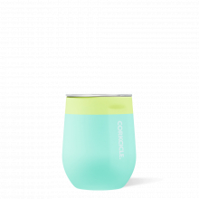 Stemless - 12oz Color Block Limeade by Corkcicle