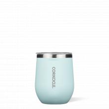 Stemless - 12oz Gloss Powder Blue by Corkcicle