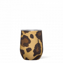 Stemless - 12oz Luxe Leopard by Corkcicle
