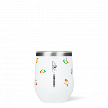 Stemless - 12oz Arnold Palmer Tossed Umbrellas by Corkcicle
