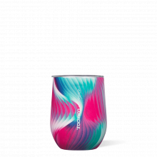 Stemless - 12oz Karim Rashid Electroclash by Corkcicle