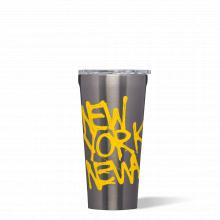 Tumbler  - 16oz - Gunmetal - Basquiat - New York New