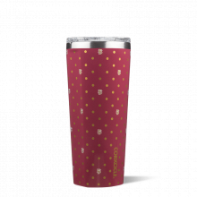 Tumbler - 24oz Polka Dot-FSU by Corkcicle