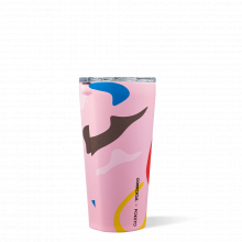Tumbler - 16oz Poketo Pink Party by Corkcicle