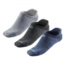 R-Gear Super Breathable Thin Cushion Heathered No Show 3 pack by R Gear in San Ramon CA