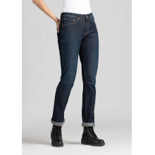 Women's Fireside Performance Denim Slim Straight - Indigo 75 by DUER