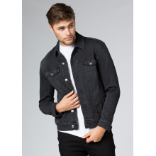 Men's Performance Denim Jacket - Washed Black