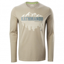 Linear Mtn City Mens L/S Tee by Kathmandu