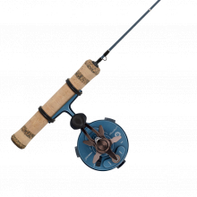 Pflueger President Inline Ice Combo by Pure Fishing