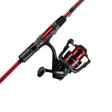 Carbon Spinning Combo | 2 | 30 | F | 7' | Medium | 5.1:1 | 6-12lb | Fast | Model #USCBSP702M/30CBO by Ugly Stik