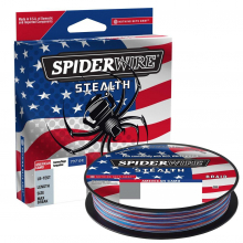 Stealth American Camo | 65lb | 29.4kg | Model #SSFS65-ACM by SpiderWire in Squamish BC
