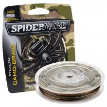 Stealth Camo Braid | 300yd | 274m | 80lb | 36.2kg | Model #SCS80C-300 by SpiderWire