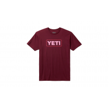Badge Logo Short Sleeve T-Shirt - Harvest Red - S