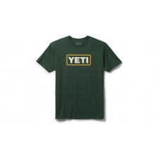Badge Logo Short Sleeve T-Shirt - Highlands Olive - XL