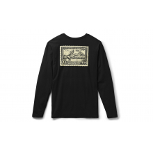 Duck Stamp Long Sleeve T-Shirt - Black - XXL
