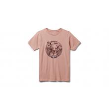 Kids Puppy Short Sleeve T-Shirt - Ash Rose - M