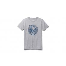 Kids Puppy Short Sleeve T-Shirt - Heather Gray - S