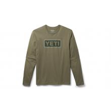Logo Badge Long Sleeve T-Shirt - Military Green - L