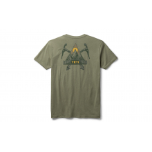 Mountaineer Short Sleeve T-Shirt - Light Olive - M