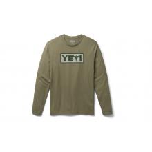 Steer Long Sleeve T-Shirt - Military Green - L