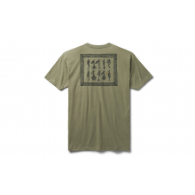 Trout Lure Short Sleeve T-Shirt - Light Olive - M by YETI in Chelan WA