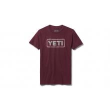 Womens Badge Logo Short Sleeve T-Shirt - Harvest Red - L
