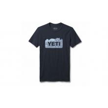 Womens Bear Badge Short Sleeve T-Shirt - Navy - S
