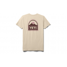 Womens Explorer Badge Short Sleeve T-Shirt - Sharptail Taupe - S