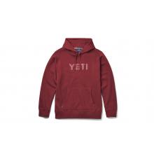 Brushed Fleece Hoodie Pullover - Harvest Red