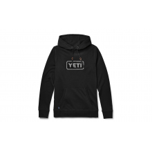 French Terry Hoodie Pullover - Black