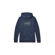 French Terry Hoodie Pullover - Navy